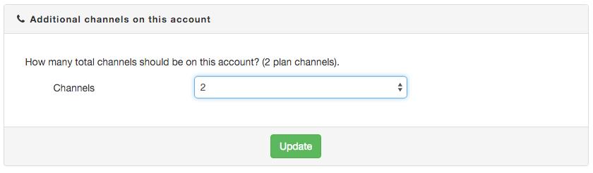 Add channels
