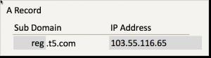 DNS - A Record